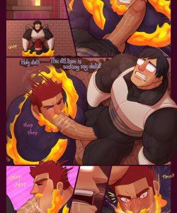 Aiding The Number 1 Hero gay furry comic