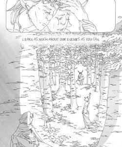 Ambrosia, Arbutus 008 and Gay furries comics