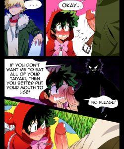 BakuDeku 002 and Gay furries comics