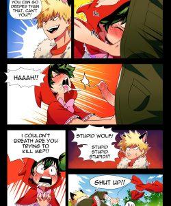 BakuDeku 004 and Gay furries comics