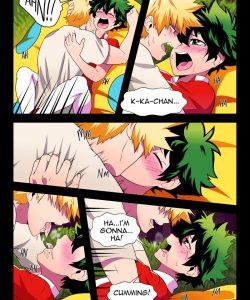 BakuDeku 011 and Gay furries comics