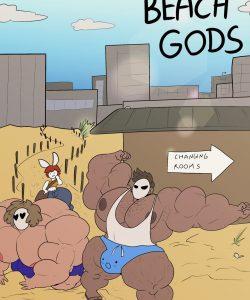 Beach Gods gay furry comic
