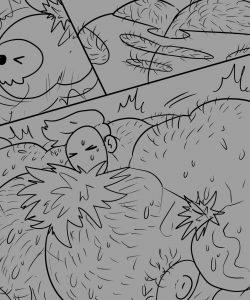 Beach Gods 009 and Gay furries comics