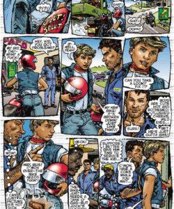 Bike Boy gay furry comic