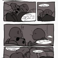 Black And Blue 14 gay furry comic