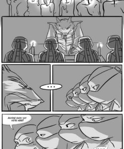Black And Blue 9 gay furry comic