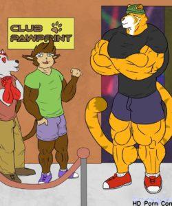 Bouncer Tiger 001 and Gay furries comics