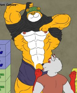 Bouncer Tiger 004 and Gay furries comics