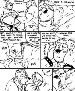 Bouncer XL gay furry comic