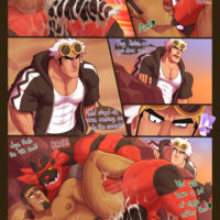 Breeding And Reproduction Of A Heel Tiger gay furry comic