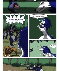 Briar Patching 009 and Gay furries comics