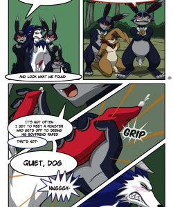 Briar Patching 010 and Gay furries comics