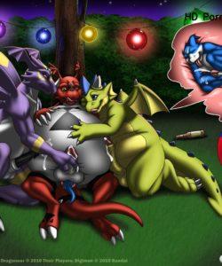 Broken Wing, Dragoneer, Bandai 002 and Gay furries comics