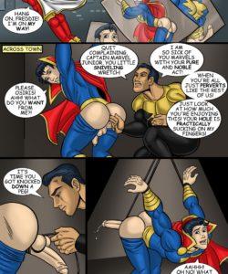Captain Marvel Jr gay furry comic