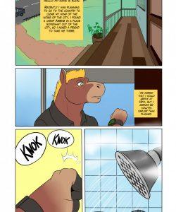Casual Visit gay furry comic