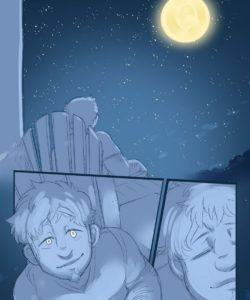 Celestial Bodies - A Lycan's Lunar Love 003 and Gay furries comics