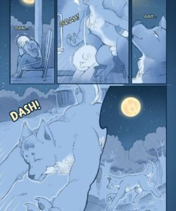 Celestial Bodies - A Lycan's Lunar Love 004 and Gay furries comics