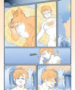 Celestial Bodies - A Lycan's Lunar Love 006 and Gay furries comics