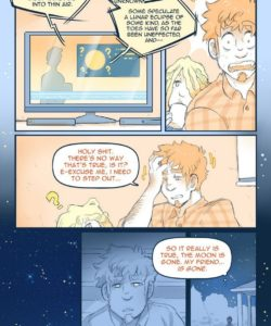 Celestial Bodies - A Lycan's Lunar Love 009 and Gay furries comics