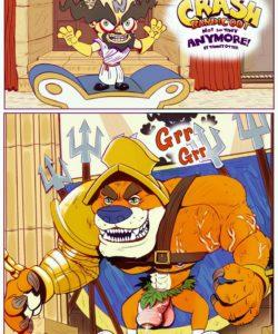 Crash Bandicoot – Not So Tiny Anymore gay furry comic