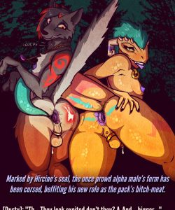 Curse Of The Night Whores gay furry comic