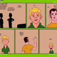 Daddy's House Year 1 - Chapter 1 & 2 - Fresh Meat gay furry comic