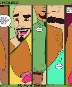Daddy's House Year 1 - Chapter 16 - Honey, I'm Home 004 and Gay furries comics