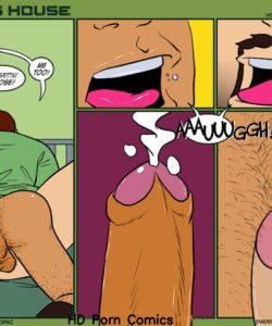 Daddy's House Year 1 - Chapter 16 - Honey, I'm Home 009 and Gay furries comics