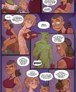 Deserter gay furry comic