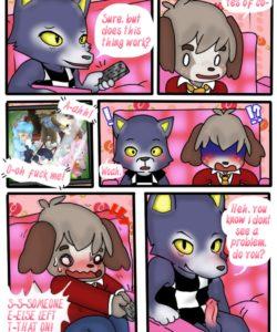 Dickin' Digby gay furry comic