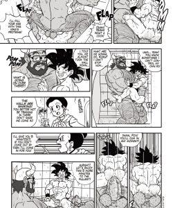Dragon Balls Super Size 1 gay furry comic