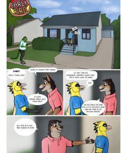 Early Bird 001 and Gay furries comics