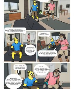 Early Bird 002 and Gay furries comics