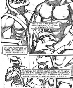 Extreme Dinosaurs 014 and Gay furries comics
