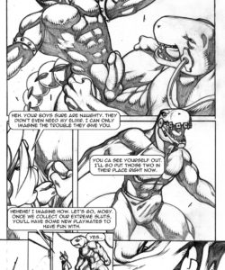 Extreme Dinosaurs 016 and Gay furries comics