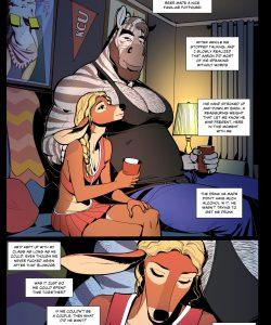 False Spring gay furry comic