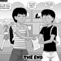 Family Duties gay furry comic