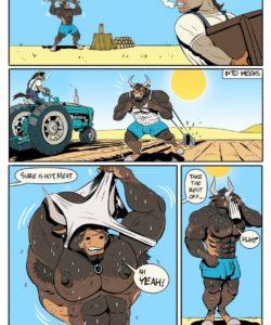 Farm Work gay furry comic