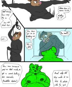 Fine Art 002 and Gay furries comics