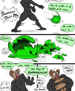 Fine Art 004 and Gay furries comics