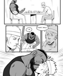 Finger Licking Tasty Night gay furry comic