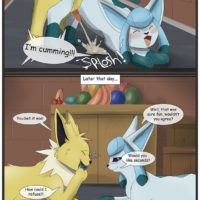 Food For Favors gay furry comic