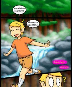 Golden Dildo gay furry comic
