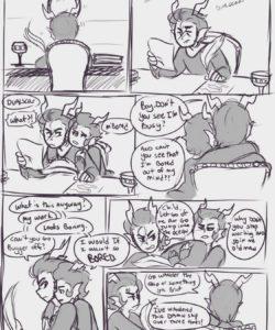Hard Work 001 and Gay furries comics