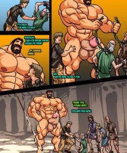Hercules - Battle Of Strong Man 2 005 and Gay furries comics