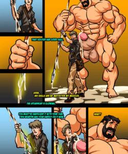 Hercules - Battle Of Strong Man 2 006 and Gay furries comics