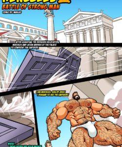 Hercules - Battle Of Strong Man 3 001 and Gay furries comics