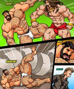 Hercules - Battle Of Strong Man 3 006 and Gay furries comics