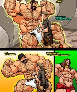 Hercules - Battle Of Strong Man 3 008 and Gay furries comics
