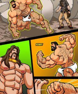 Hercules - Battle Of Strong Man 3 009 and Gay furries comics